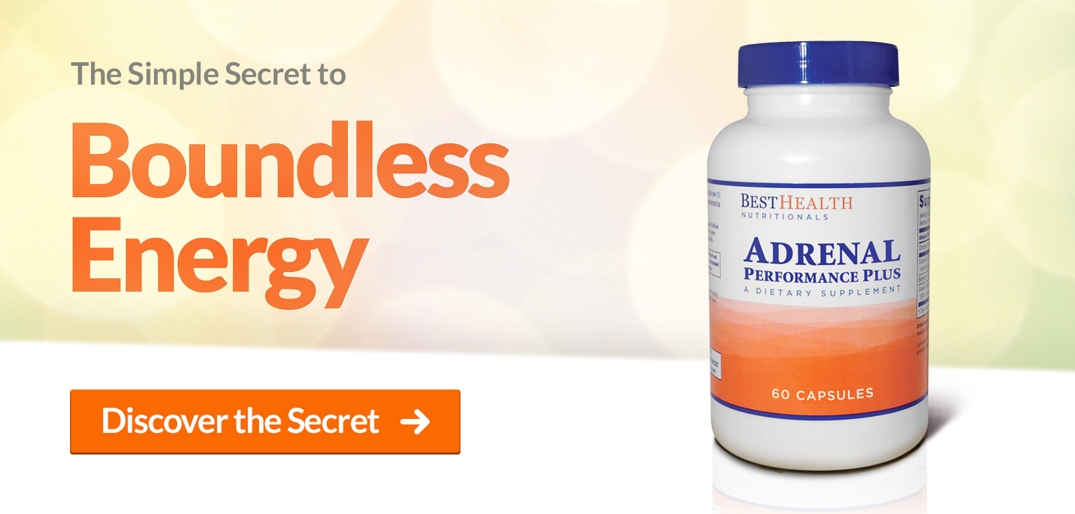 Adrenal Performance Plus  - Secret to Boundless Energy